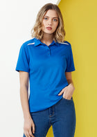 ACTIV EMBROIDERY DESIGNS.BIZ COLLECTION Sonar Polo (Ladies)
