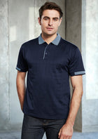 ACTIV EMBROIDERY DESIGNS. MENS NOOSA SELF CHECK POLO