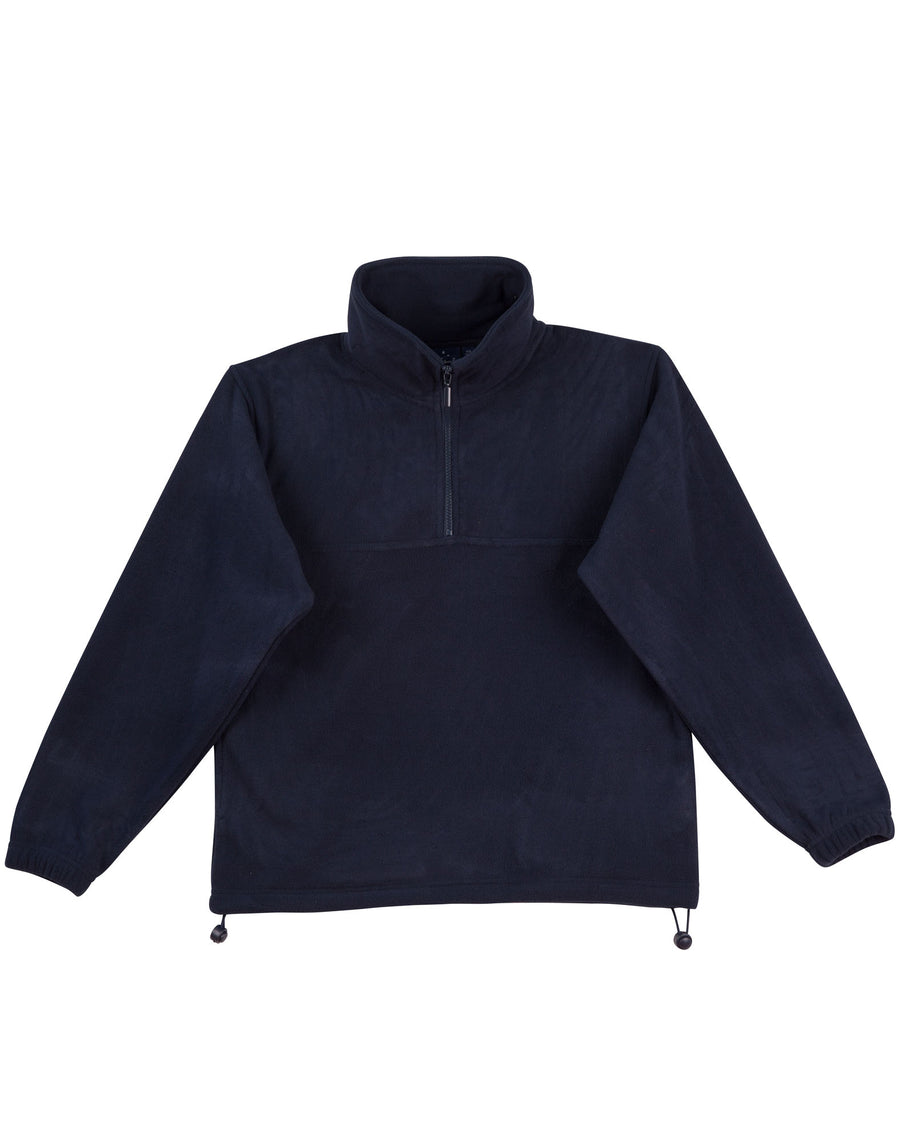 winning,pf01,MT Buller Half Zip Polar Fleece Pullover (Unisex)