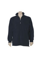 MENS HEAVY WEIGHT 1/2 ZIP WINTER FLEECE