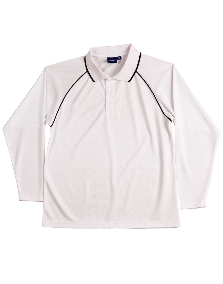 Champion Plus Long Sleeve Polo (Kids)