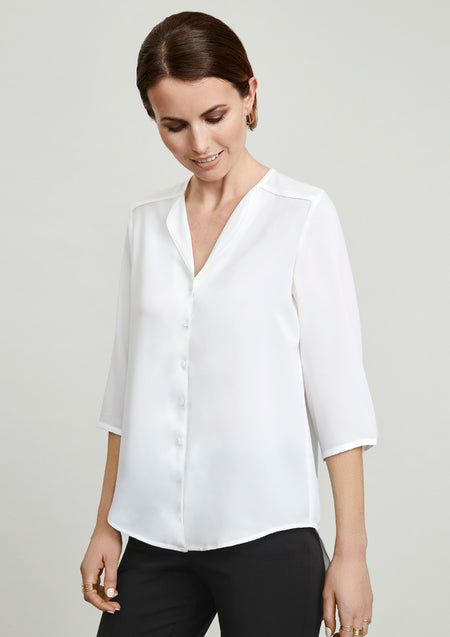 Biz Collection Lily Ladies Longline Blouse