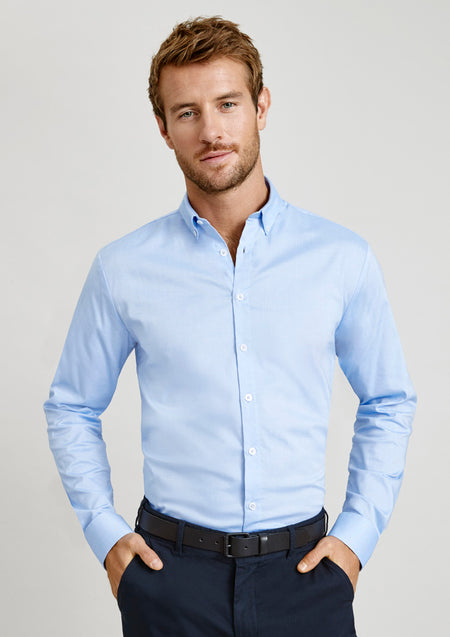 Biz Collection Camden Long Sleeve Shirt (Mens)