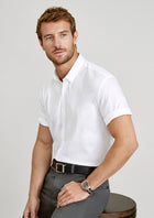 Biz Collection Camden Short Sleeve Shirt (Mens)