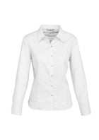 100% COTTON LADIES LUXE LONG SLEEVE SHIRT