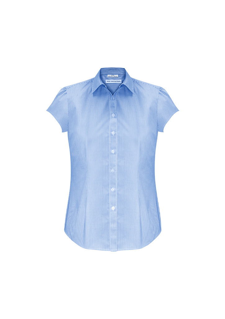ACTIV EMBROIDERY DESIGNS. CORPORATE UNIFORM. Euro Short Sleeve Shirt (Ladies)