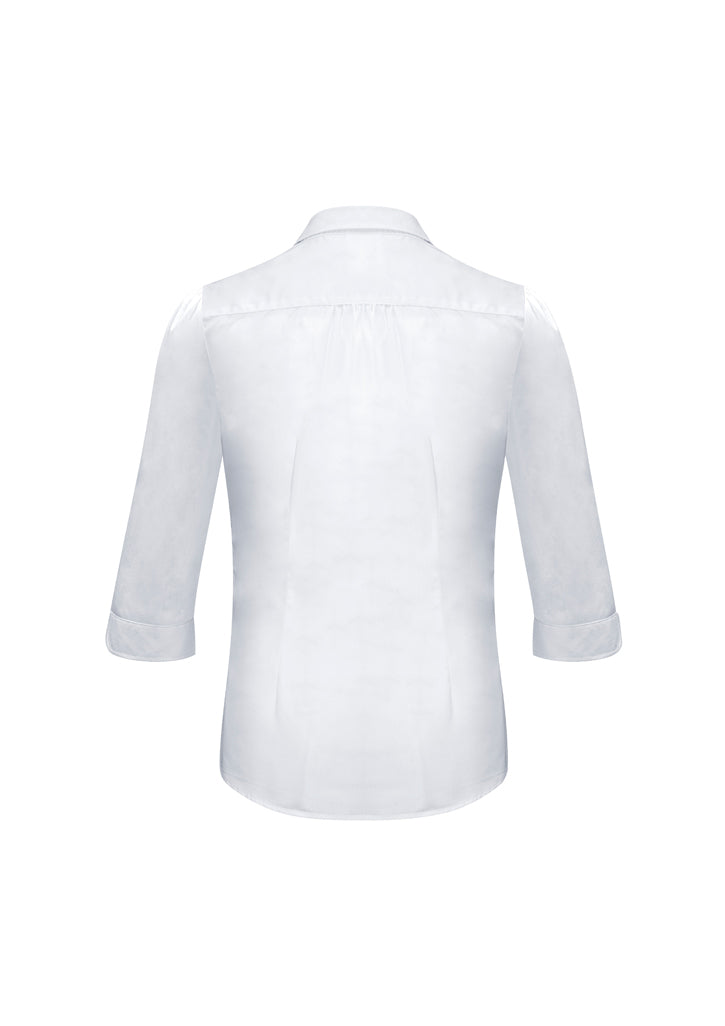ACTIV EMBROIDERY DESIGNS. CORPORATE UNIFORM. Euro Long Sleeve Shirt (Ladies)