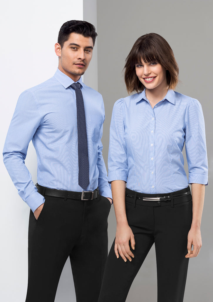 ACTIV EMBROIDERY DESIGNS. CORPORATE UNIFORM. Euro 3/4 Sleeve Shirt (Ladies)