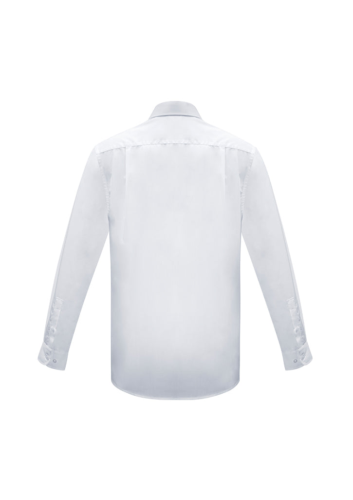 ACTIV EMBROIDERY DESIGNS.UNIFORMS.MENS EURO LONG SLEEVE SHIRT