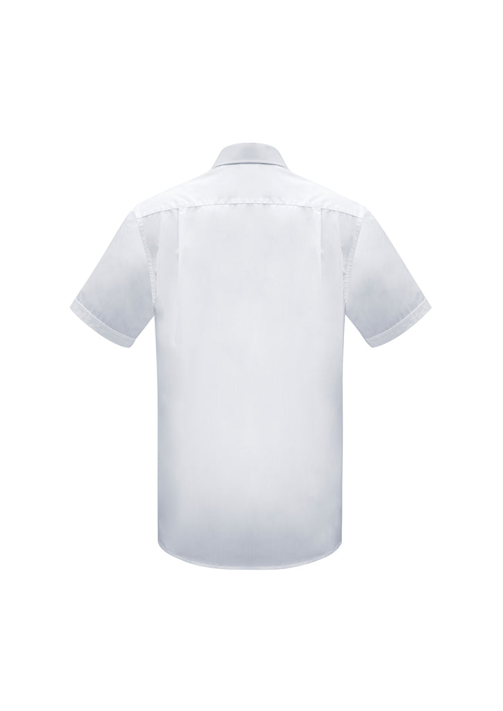 ACTIV EMBROIDERY DESIGNS. CORPORATE UNIFORM. Euro Short Sleeve Shirt Mens.