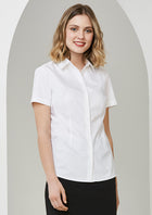 ACTIV EMBROIDERY DESIGNS.BIZ COLLECTION Regent S/S Shirt (Ladies)
