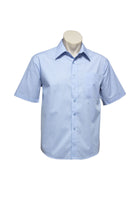 MENS MICRO CHECK SHORT SLEEVE SHIRT