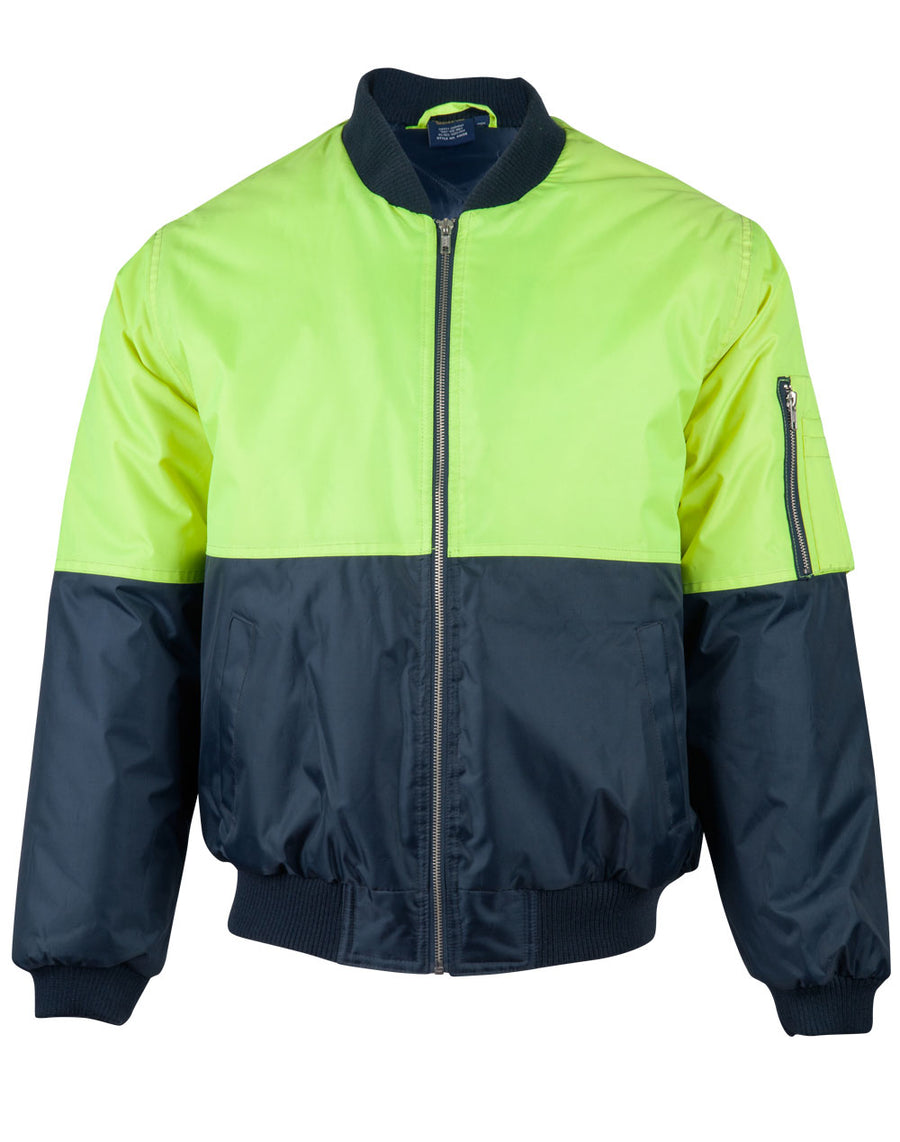 SW06A,Hi Vis Tow Tone Flying Jacket
