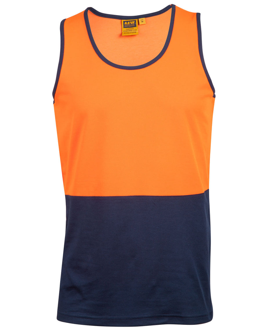 High Visibility TrueDry Mesh Knit Safety Singlet