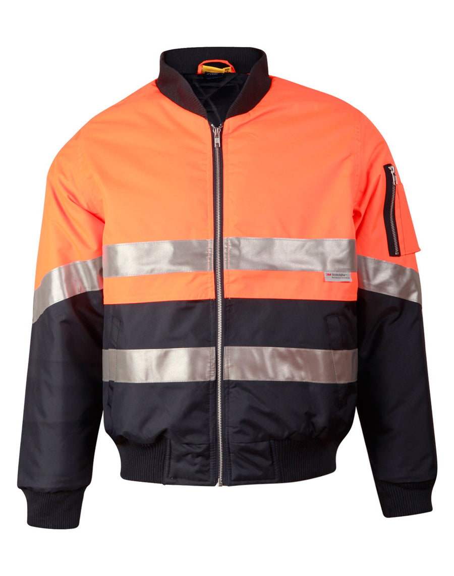 Hi Vis Tow Tone Flying Jacket with 3M Tapes