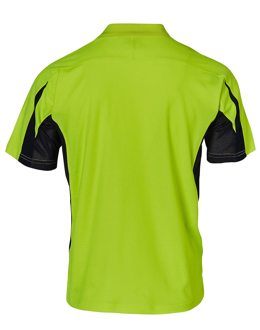 Hi-Vis TrueDry Fashion Polo With Underarms Mesh (Unisex)