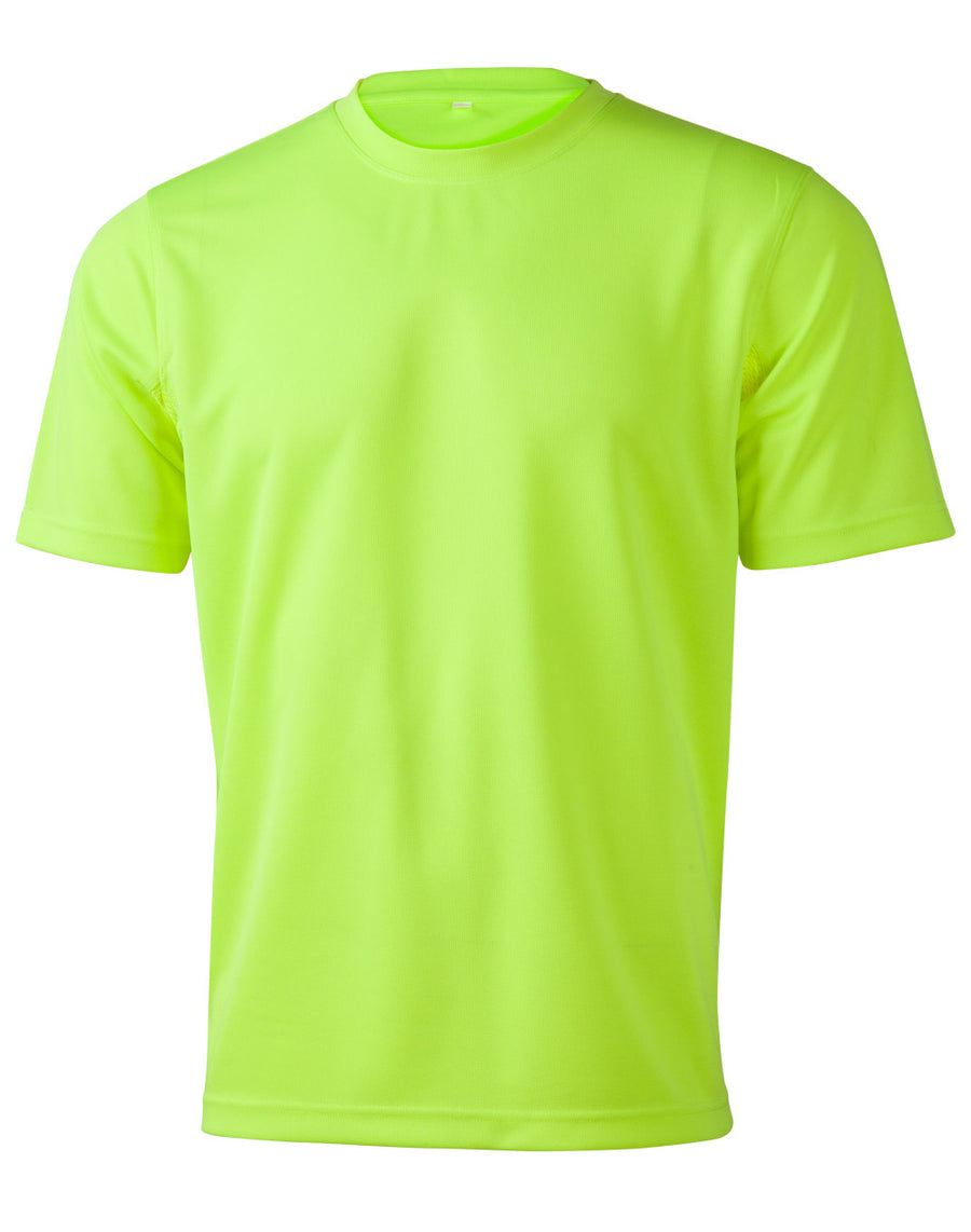 ACTIV EMBROIDERY DESIGNS, WORKWEAR, Hi-Vis CoolDry® Mini Waffle Safety Tee (Unisex)