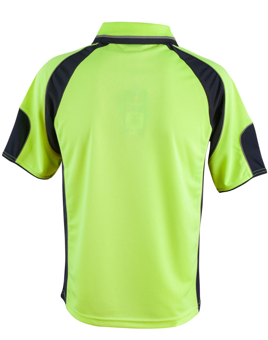 Hi-Vis Associate CoolDry Mini Waffle Safety Polo (Unisex)