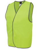 ACTIV EMBROIDERY DESIGNS. UNIFORMS. jb HI VIS SAFETY VEST. UNISEX.