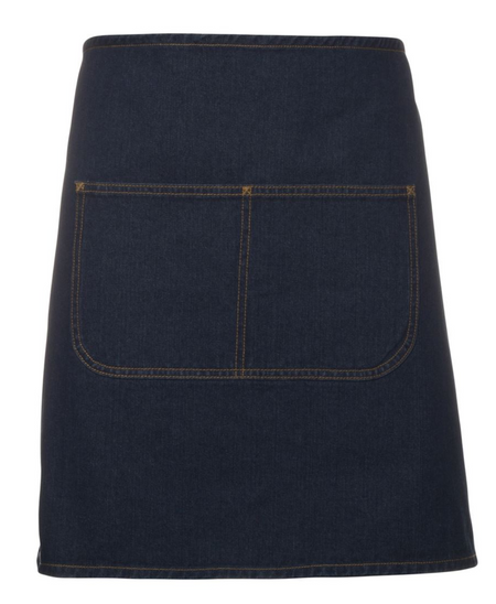 ACTIV EMBROIDERY DESIGNS. UNIFORMS. WAIST DENIM APRON.
