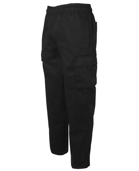 ACTIV EMBROIDERY DESIGNS. UNIFORMS. ELASTICATED CARGO PANT. UNISEX.