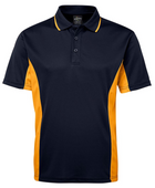 ACTIV EMBROIDERY DESIGNS. UNIFORMS. JB CONTRAST POLO. MENS.