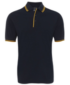 ACTIV EMBROIDERY DESIGNS. UNIFORMS. CONTRAST POLO. MENS.