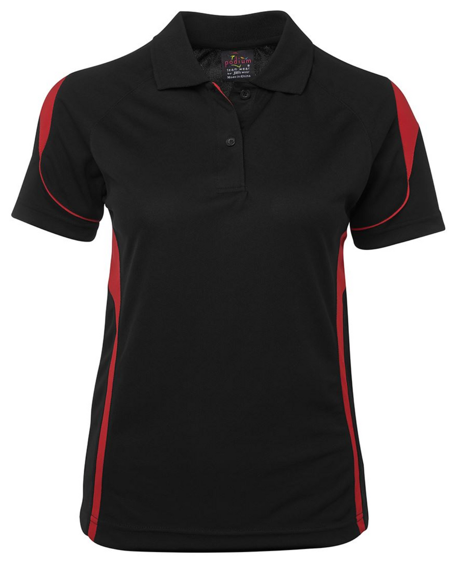 ACTIV EMBROIDERY DESIGNS. UNIFORMS. BELL POLO. LADIES.