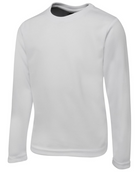 ACTIV EMBROIDERY DESIGNS. UNIFORMS. LONG SLEEVE POLY TEE