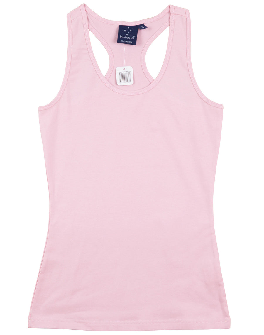 STRETCH RACEBACK SINGLET Ladies'