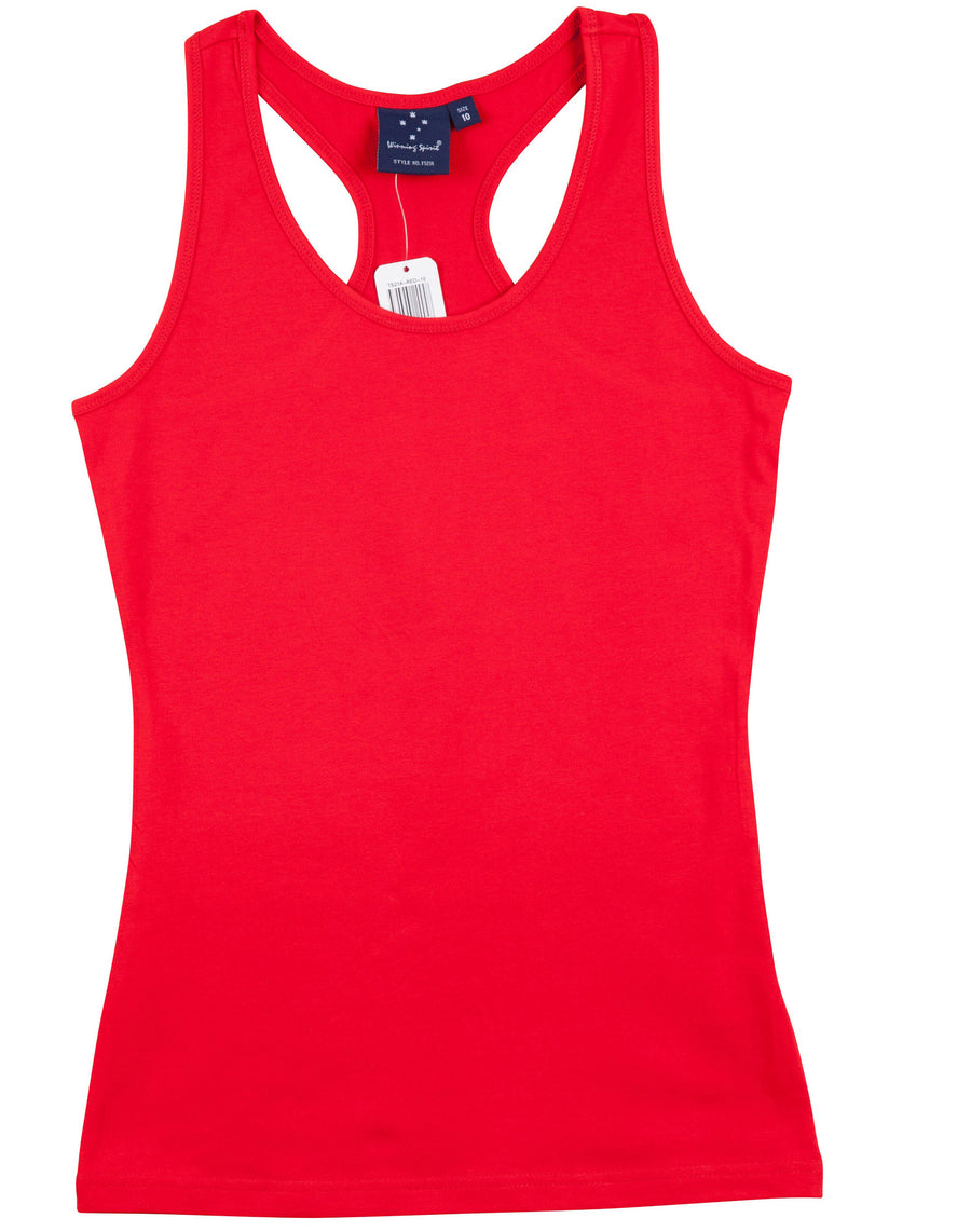 Stretch Raceback Singlet (Ladies)