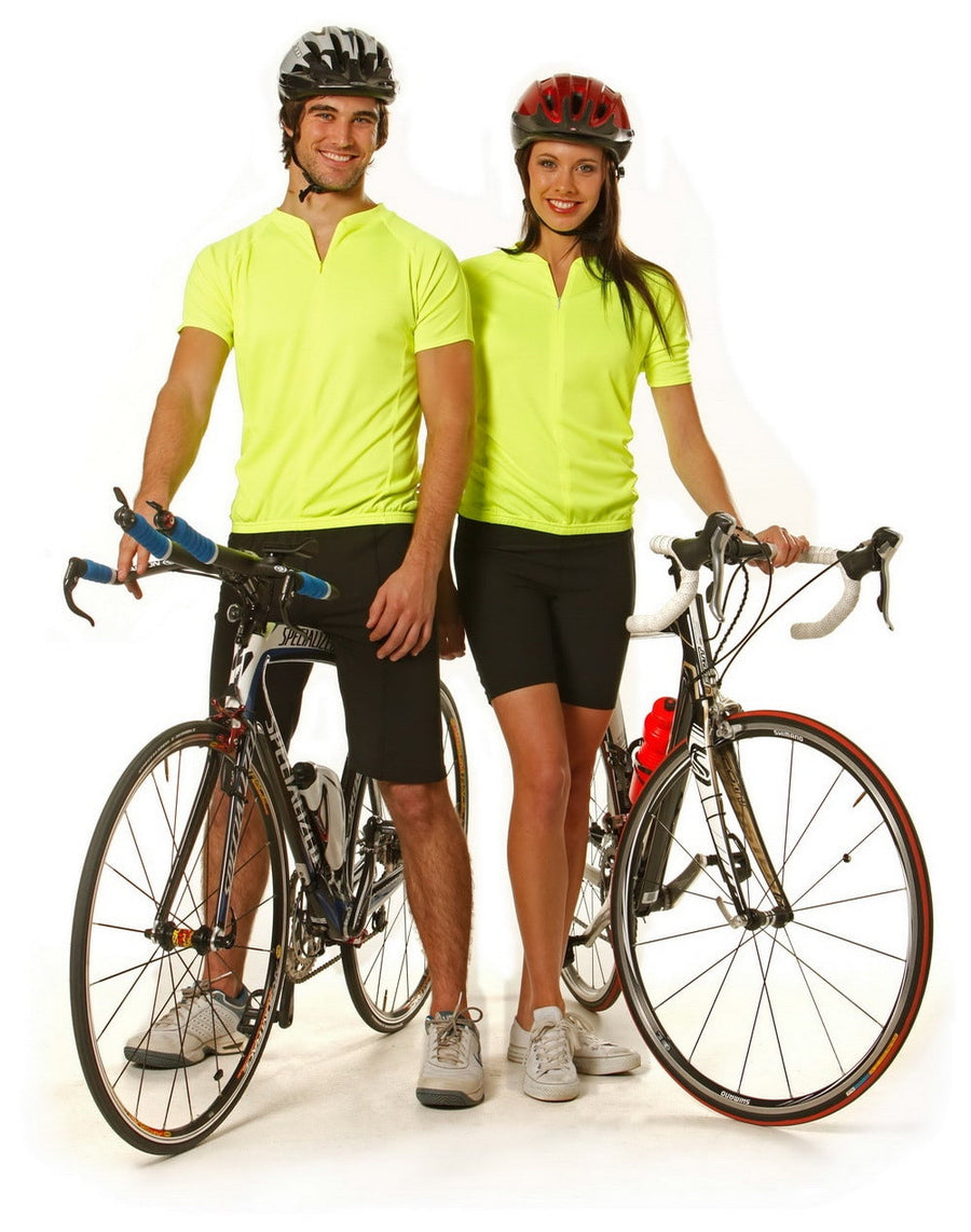 ACTIV EMBROIDERY DESIGNS. CYCLING TOP
