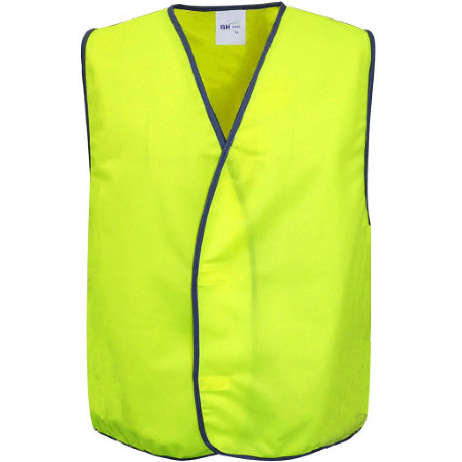 w1,Hi-Vis Safety Vest With Full Colour Transfer Printing (Adults & Kids)
