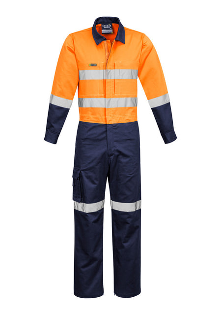 ACTIV EMBROIDERY DESIGNS. UNIFORMS. RUGGED COOLING TAPED OVERALLS. MENS.