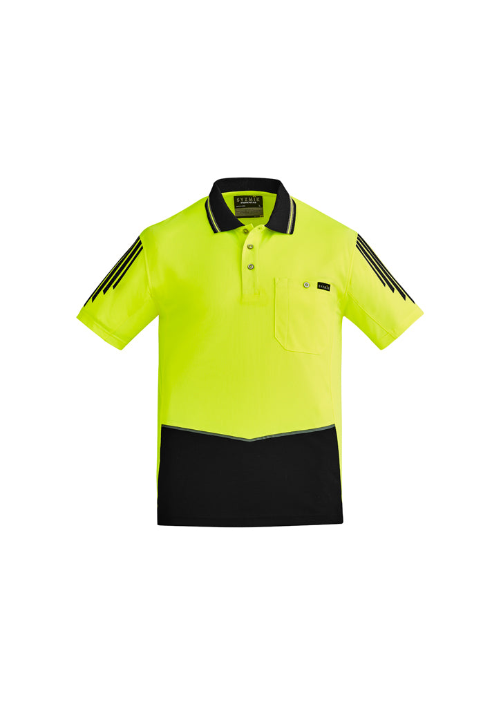 Hi Vis Flux S/S Polo (Mens)