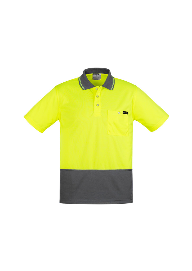 Men's Comfort Back S/S Polo