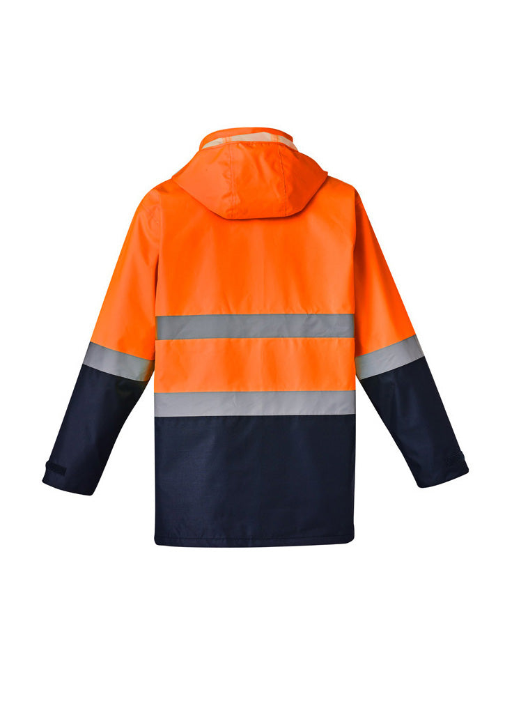 Hi Vis Basic 4 In 1 Waterproof Jacket (Mens)