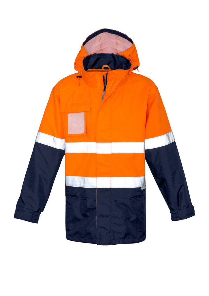 ACTIV EMBROIDERY DESIGNS. UNIFORMS. ULTRALITE WATERPROOF JACKET. MENS.