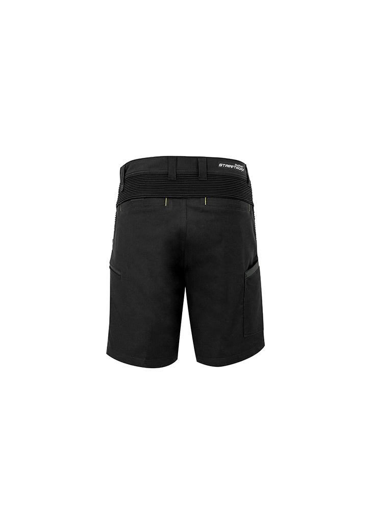 ACTIV EMBROIDERY DESIGNS. UNIFORMS. STREETWORX STRETCH SHORT MENS.