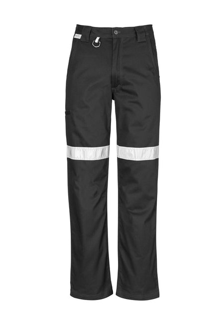 ACTIV EMBROIDERY DESIGNS. UNIFORMS. TAPED CARGO PANT. MENS.