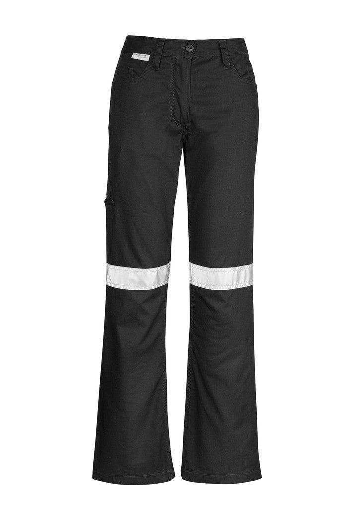 ACTIV EMBROIDERY DESIGNS. UNIFORMS. TAPED UTILITY PANT. LADIES.