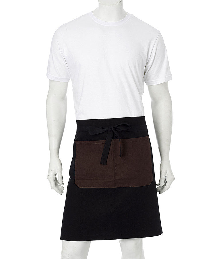ACTIV EMBROIDERY DESIGNS. UNIFORMS. JIMMY CANVAS WAIST APRON.