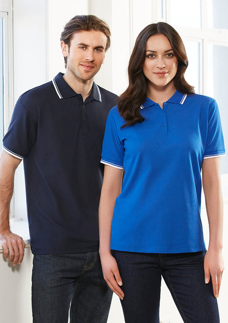 ACTIV EMBROIDERY DESIGNS. LADIES CAMBRIDGE POLO