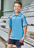 ACTIV EMBROIDERY DESIGNS. SPORTSWEAR.KIDS FLASH POLO