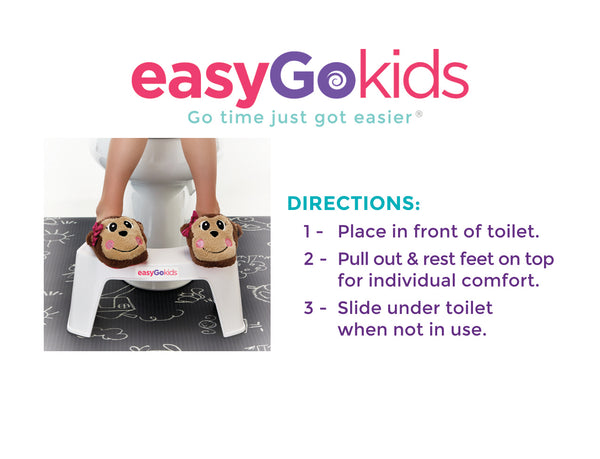 How to use easygokids toilet stool