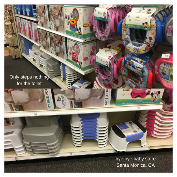 Bye Bye Baby Store and EasyGoKids not on the shelf