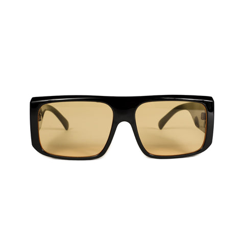 Quad Sunglasses Black/Yellow