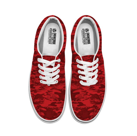 Red Camo Sneaker
