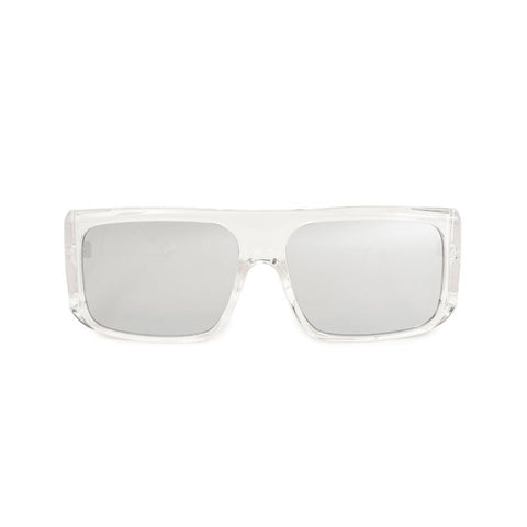 Quad Sunglasses Silver/Clear