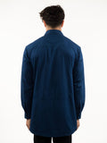 "Double Zip Tunic ""Indigo Series"""